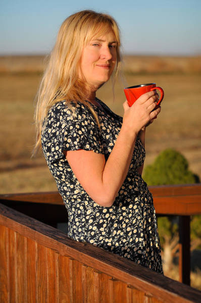 Photograph - First Cup by Carl Young