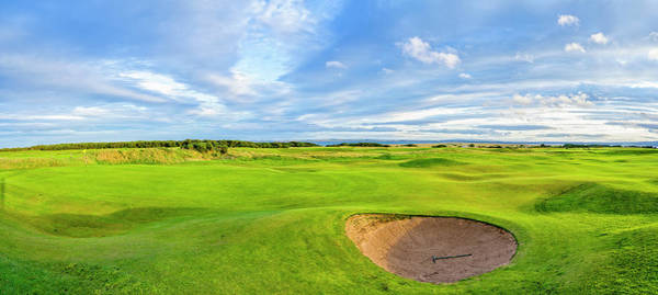 Wall Art - Photograph - First Fairway And Sand Trap Of Royal by Panoramic Images