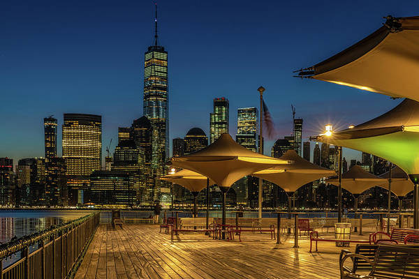Photograph - First Light From Jersey City by Chris Lord