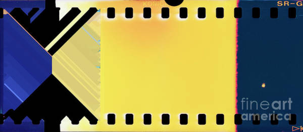 Wall Art - Photograph - First Light On Analog Color Film And Scanner Error by Guido Koppes