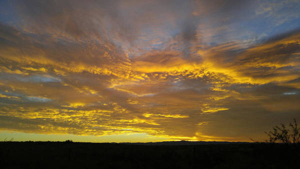Photograph - First Light Over Texas 4 by Carl Young