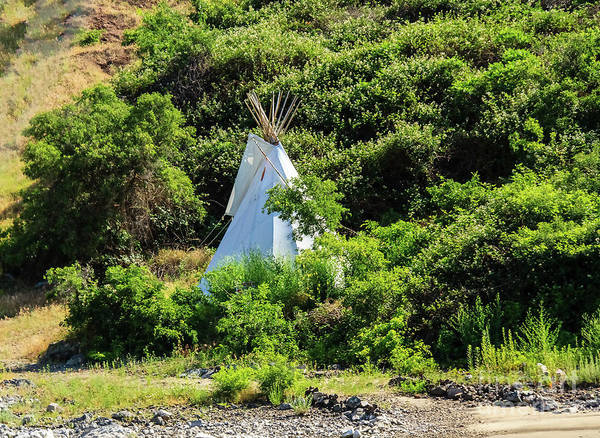 Wall Art - Photograph - First Nation Teepee  by Robert Bales