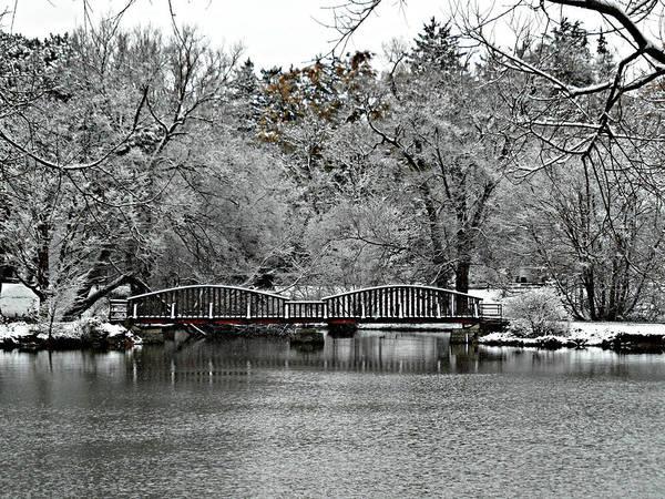 Photograph - First Snow Fall 14 by Cyryn Fyrcyd