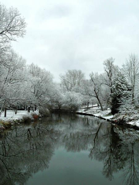 Photograph - First Snow Fall 19 by Cyryn Fyrcyd