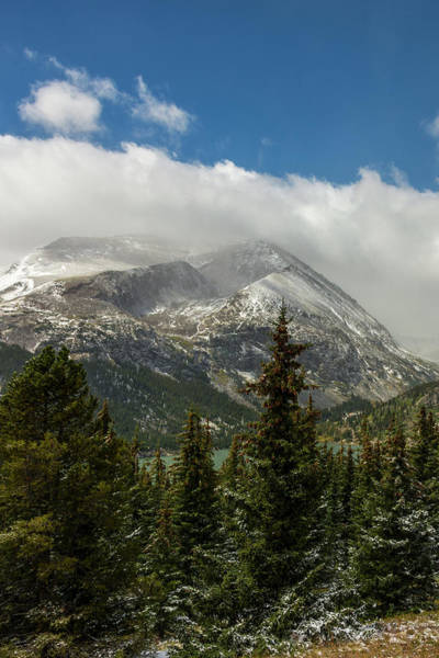 Wall Art - Photograph - First Snow On Mount Lincoln 2 - Colorado by Brian Harig