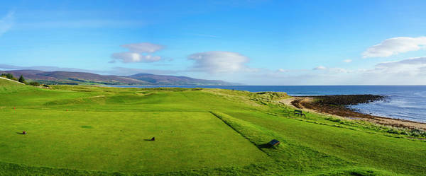Wall Art - Photograph - First Tee At Brora Golf Club, Moray by Panoramic Images