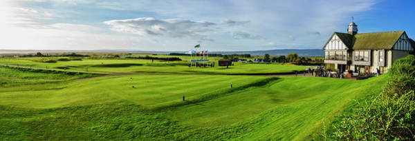 Wall Art - Photograph - First Tee Clubhouse Of Royal Dornoch by Panoramic Images