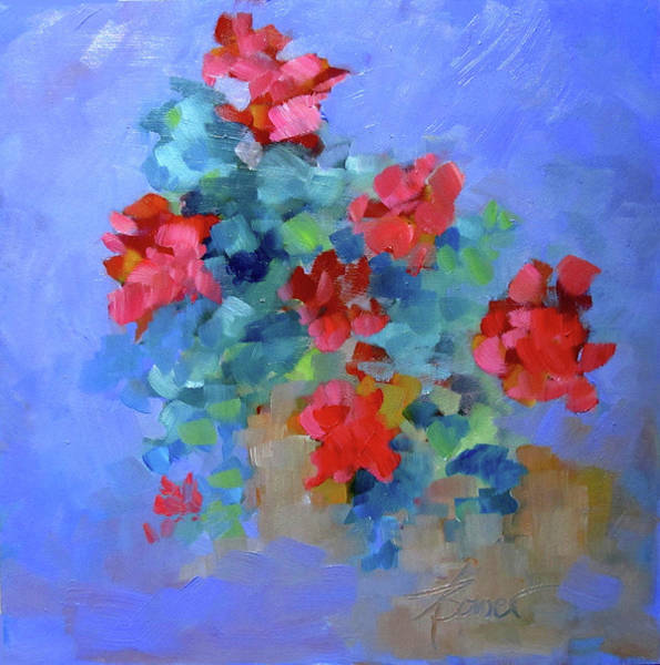 Painting - First Thing  by Adele Bower