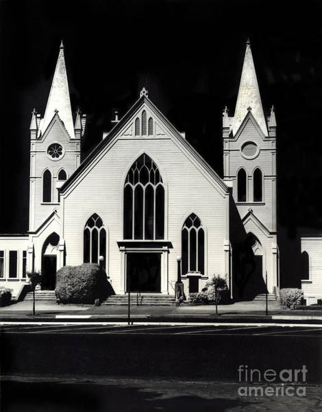 Photograph - First United Methodist Church Of Pacific Grove In Pacific Grove, by California Views Archives Mr Pat Hathaway Archives