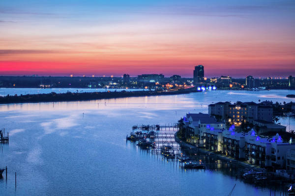 Firstlight Over Clearwater Art Print
