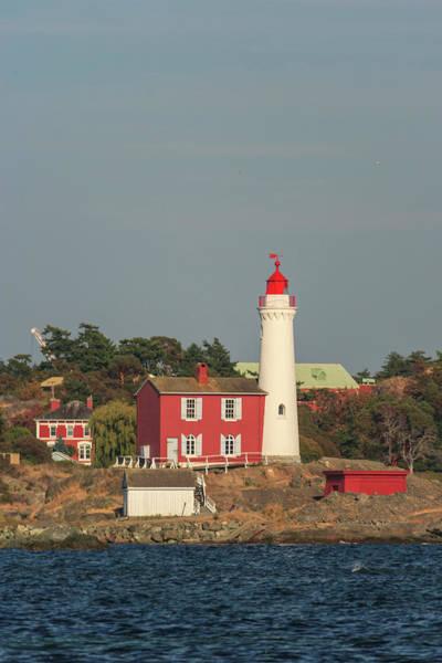 Wall Art - Photograph - Fisgard Lighthouse, Ford Rodd Hill by Stuart Westmorland