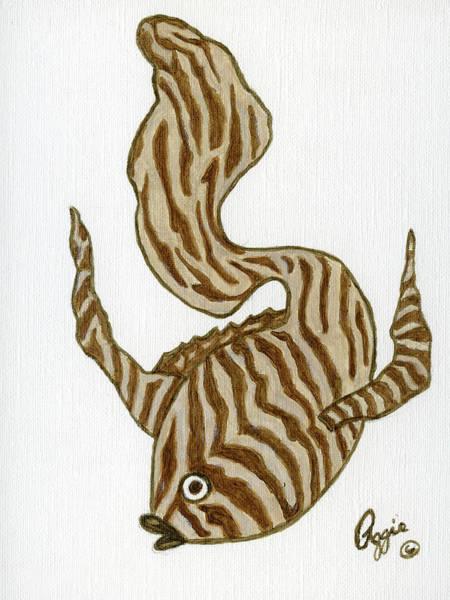 Painting - Fish Animal Print by Stephanie Agliano
