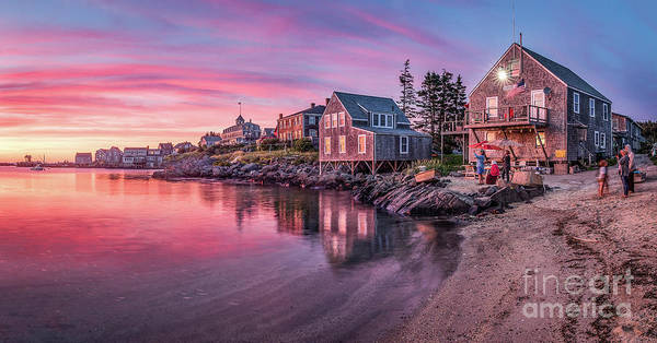 Wall Art - Photograph - Fish Beach Sunset by Benjamin Williamson