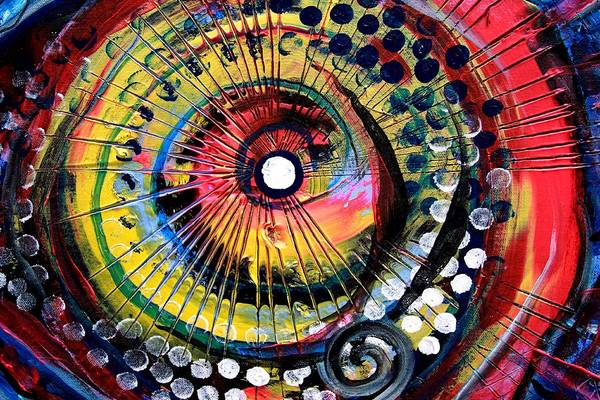 Painting - Fish Eye by J Vincent Scarpace