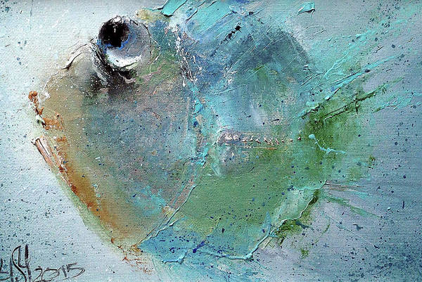 Russian Impressionism Wall Art - Painting - Fish-ka 3 by Igor Medvedev