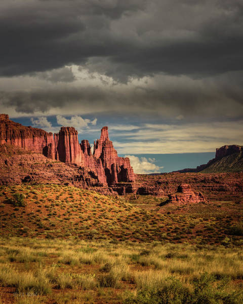Fisher Towers Photograph - Fisher Towers by Medicine Tree Studios