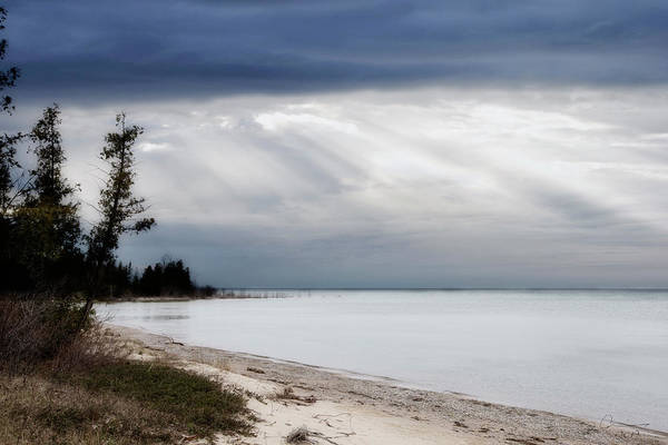 Photograph - Fishermans Island Michigan by Evie Carrier