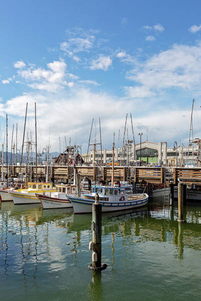 Wall Art - Photograph - Fisherman's Wharf San Francisco California by Melanie Alexandra Price