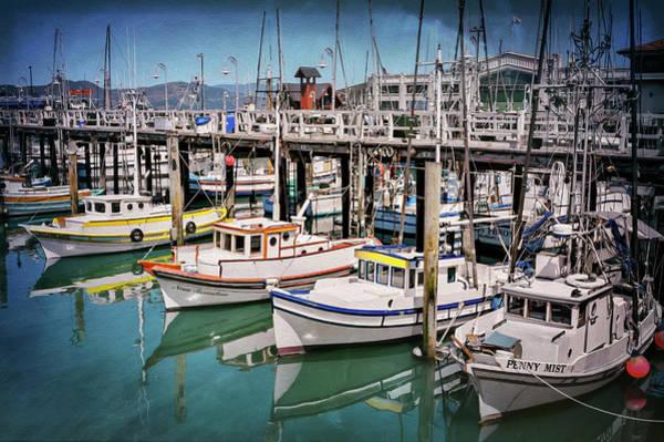 Fishermen Photograph - Fishermans Wharf San Francisco  by Carol Japp