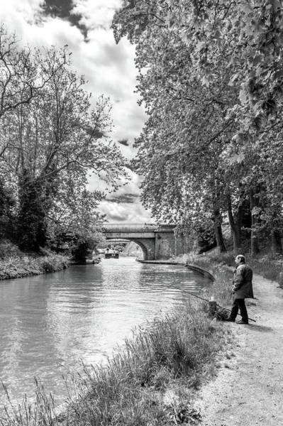 Wall Art - Photograph - Fishing Along The Midi by W Chris Fooshee