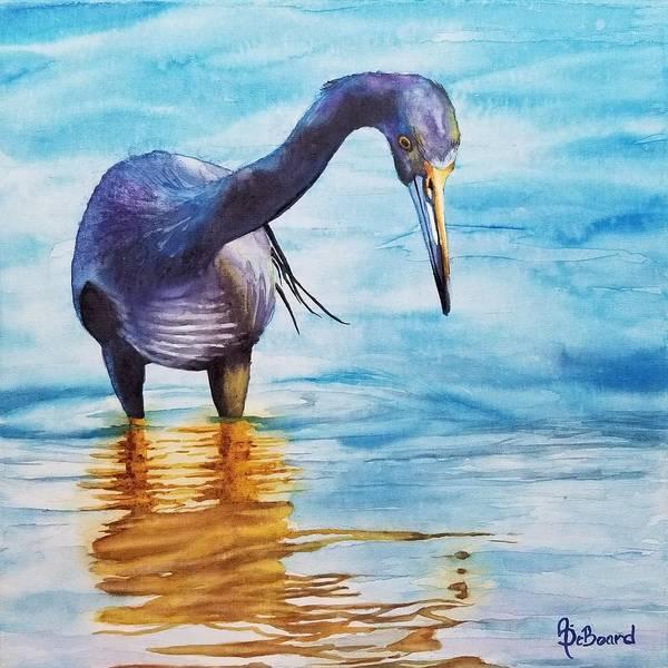 Water Foul Painting - Fishing  by Ashly DeBoard