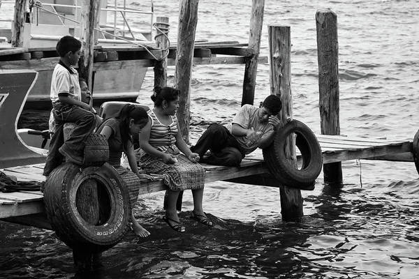 Photograph - Fishing At Atitlan Lake, Guatemala by Tatiana Travelways