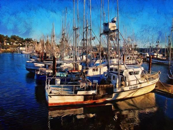 Photograph - Fishing Boat Dreams by Thom Zehrfeld