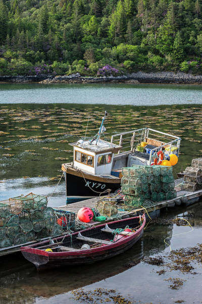 Photograph - Fishing Boat In Plockton, Scotland by Arterra Picture Library