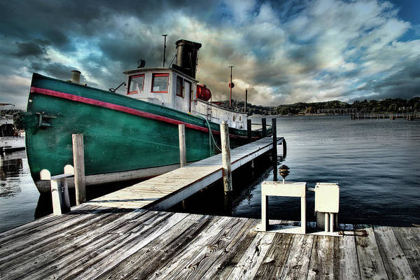 Photograph - Fishing Boat In Saugatuck by Evie Carrier