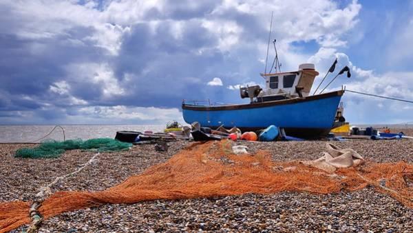 Fishing Boat Photograph - Fishing Boat by Martyn Crookston