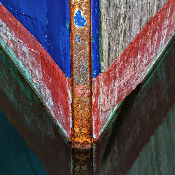 Wall Art - Photograph - Fishing Boat Prow by Carol Leigh