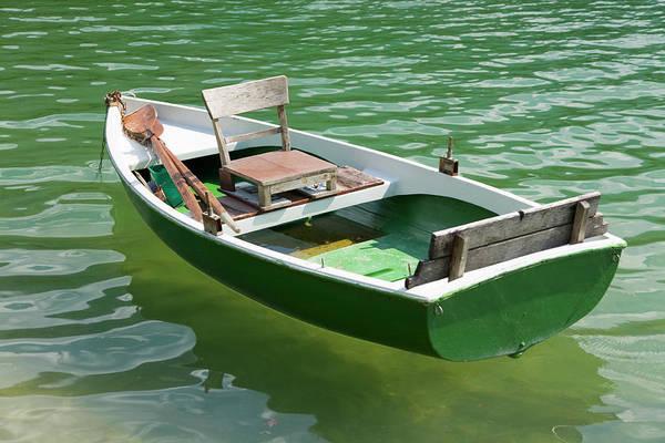 Rowboat Photograph - Fishing Boat by Ra-photos