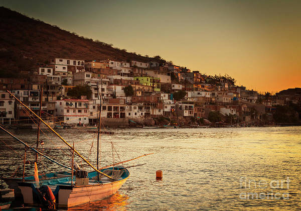 Wall Art - Photograph - Fishing Boats In Mexico by Galyna Andrushko