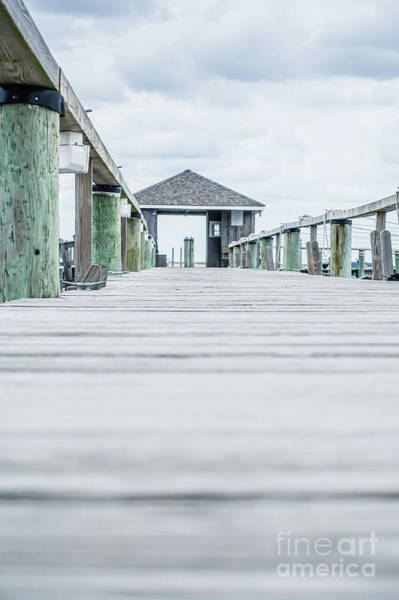 Photograph - Fishing Dock Cape Cod by Wendy Fielding