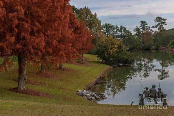 Photograph - Fishing Hole - Autumn by Dale Powell
