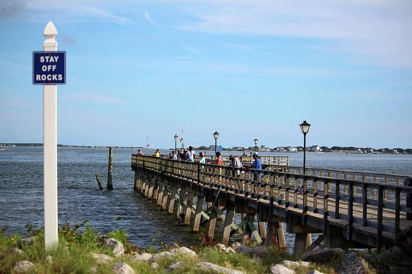 Photograph - Fishing In Southport by Cynthia Guinn
