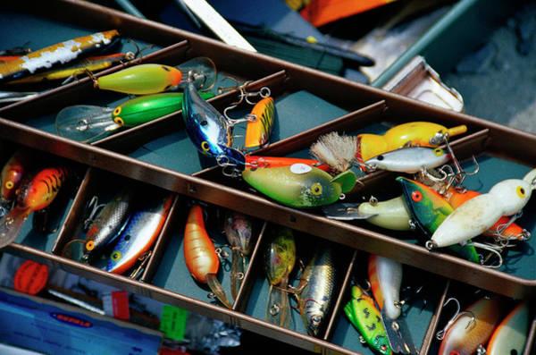 Sport Fish Photograph - Fishing Lures, Aruba by Jennifer Broadus