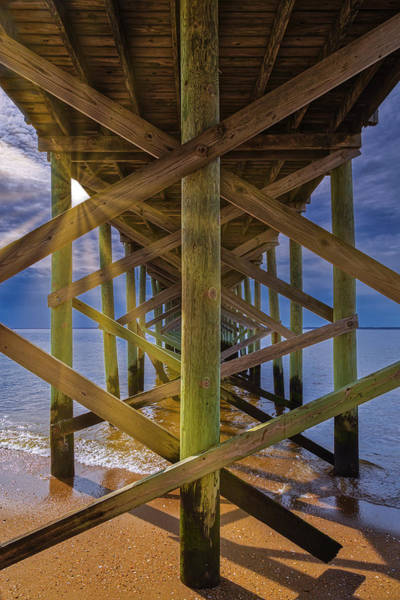 Photograph - Fishing Pier Keansburg Nj by Susan Candelario