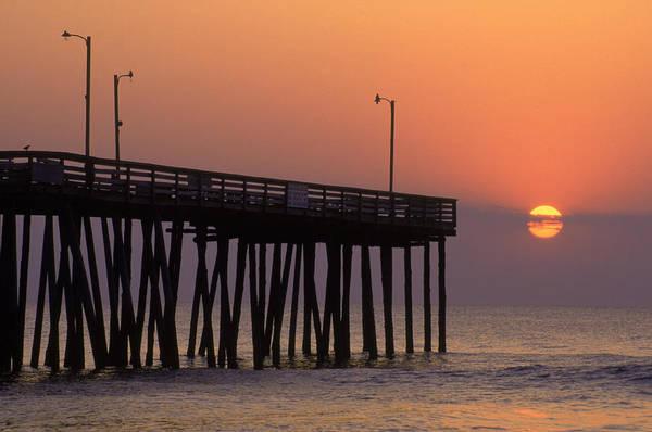 Sport Fish Photograph - Fishing Pier, Virginia Beach, Va by Jeff Greenberg