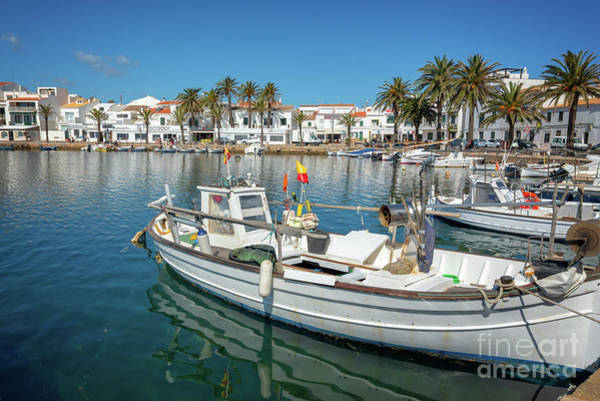 Wall Art - Photograph - Fishing Port In Menorca by Delphimages Photo Creations