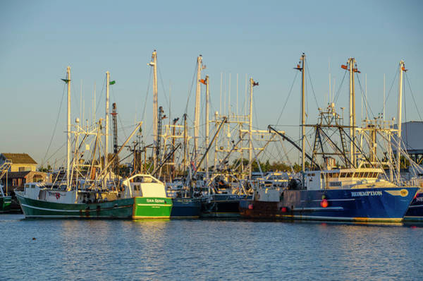 Wall Art - Photograph - Fishing Ships At Cape May New Jersey by Bill Cannon