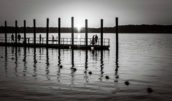 Photograph - Fishing by Steve Stanger