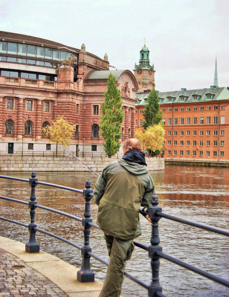 Photograph - Fishing Stockholm  by JAMART Photography