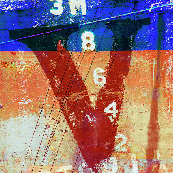 Wall Art - Mixed Media - Fishing Vessel Vivian Astoria Oregon by Carol Leigh