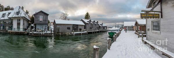 Wall Art - Photograph - Fishtoen Winter Panorama by Twenty Two North Photography