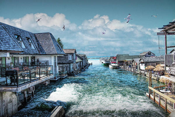Wall Art - Photograph - Fishtown In Leland Michigan by Randall Nyhof