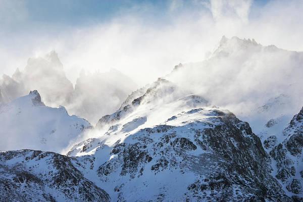 Wall Art - Photograph - Fitz Roy Mountain Massif by Martin Harvey