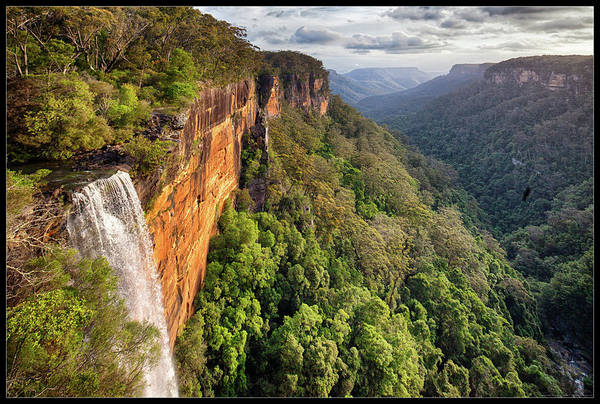 City Scape Photograph - Fitzroy Falls Southern Highlands Nsw by Australian Land, City, People Scape Photographer