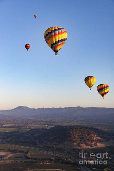Photograph - Five Balloons by Ana V Ramirez