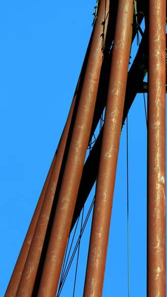 Photograph - Five Grain Tubes Up by Jerry Sodorff